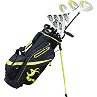 WOODWORM GOLF ZOOM V2 CLUBS COMPLETE LEFTY SET W/BAG