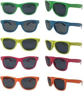 51724b3db0 Neon Sunglasses (Bulk Pack 30) Assorted Bright Colors Wayfarer Neon  Sunglasses Party Favors Party
