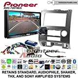 Pioneer AVIC-7201NEX Double Din Radio Install Kit with GPS Navigation Apple CarPlay Android Auto Fits 2008-2012 Ford Escape, Mazda Tribute, Mercury Mariner