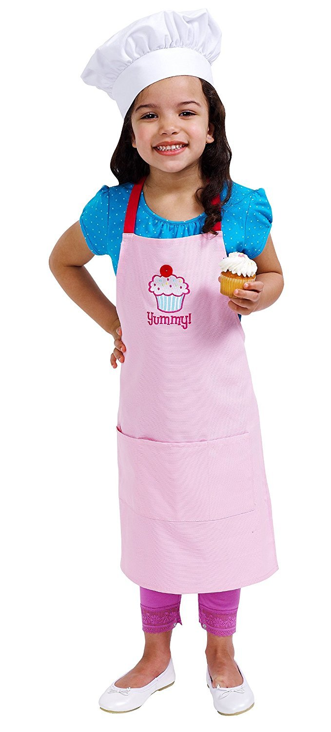 Sassafras The Little Cook: Yummy! Cupcake Apron Set Kitchenware
