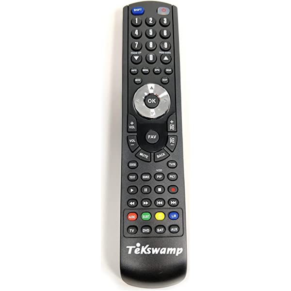 Tekswamp TV Remote Control for Philips 42PFL7332D//37
