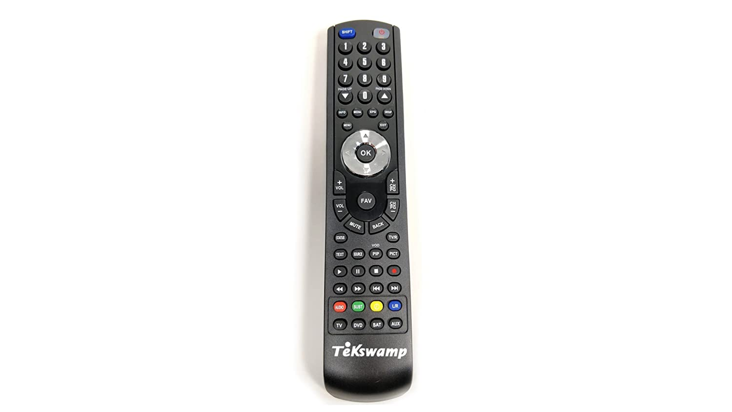 Tekswamp TV Remote Control for Mitsubishi LT-52151 TL Electronics CO.