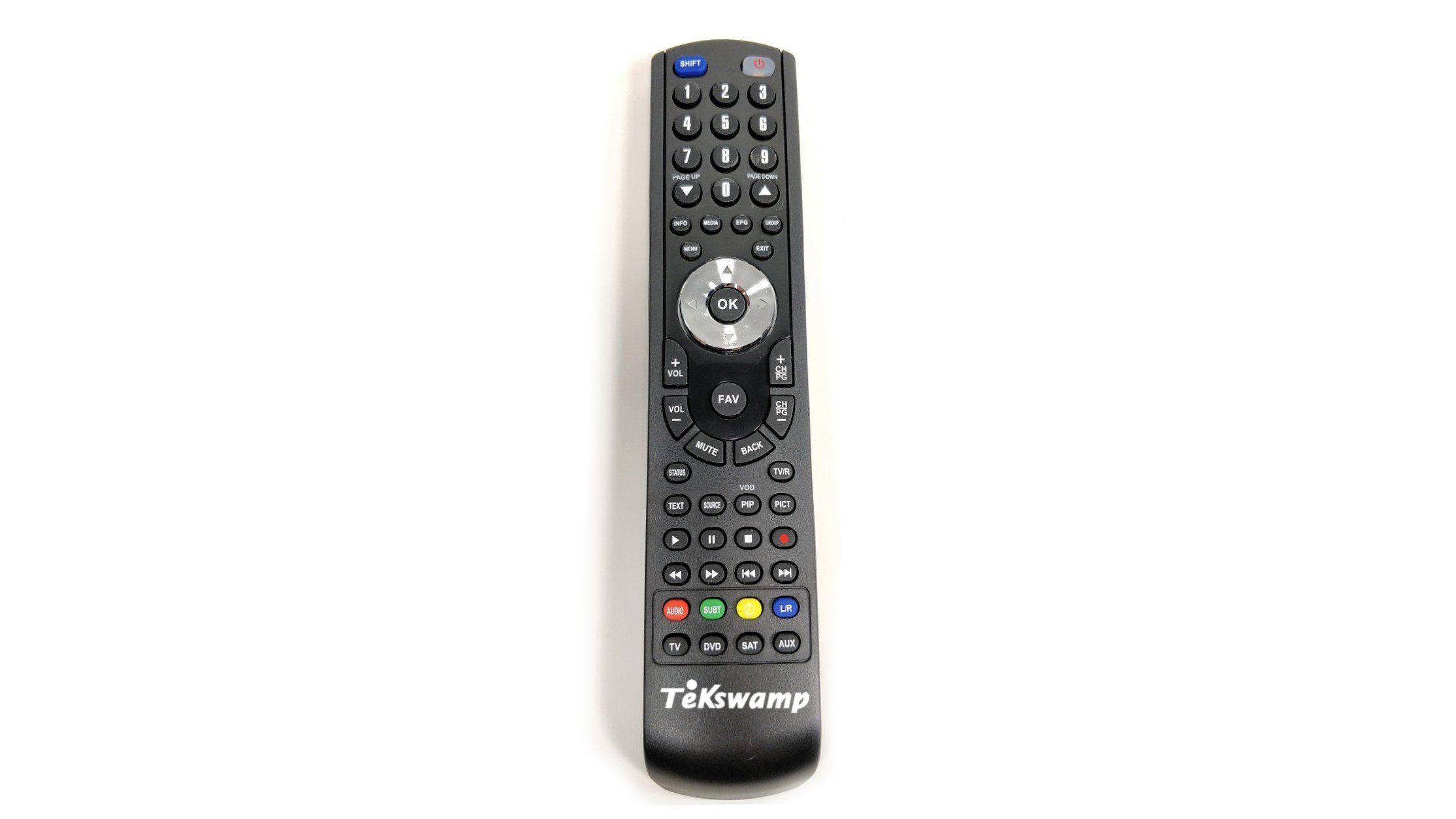 Tekswamp TV Remote Control for Philips 47PFL7403D/F7