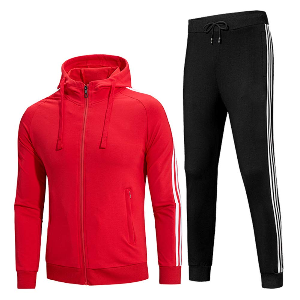 WYX Sweatsuits para Hombres Trajes De Jogging Casuales Delgados ...
