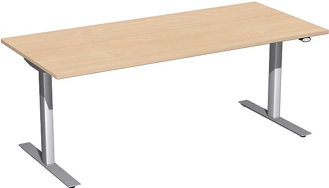 Eléctrico (Altura Ajustable escritorio (Hub mesa) Valencia, 180 cm ...