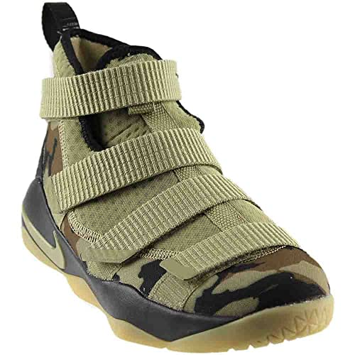 on sale d370c 5afb5 NIKE Kids  Grade School Lebron Soldier Xi Basketball Shoes (7, ...