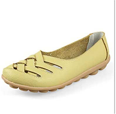 Surprising Day New Women Genuine Leather Mother Shoes Moccasins Women's Soft Leisure Flats Female Driving Shoe Flat 10 colors 7 8