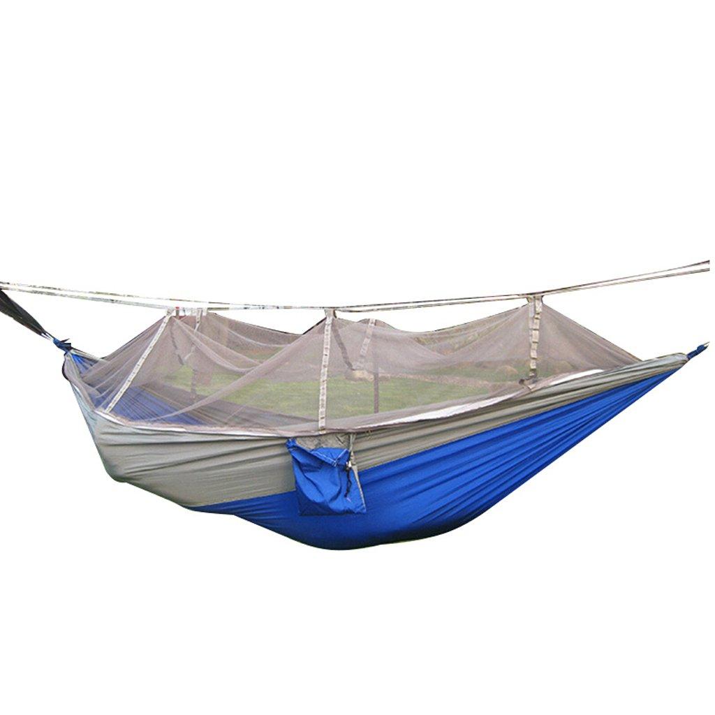 ハンモック蚊避けるポータブルストレージ蚊帳のハンモックを持つ二重の人々安全性が落ちるホーム屋内屋外キャンプ観光、6色オプション (色 : 2#) B07DPKJPZ8 2# 2#