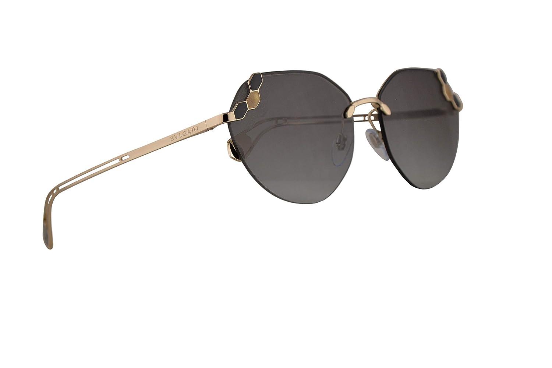 Amazon.com: Bvlgari BV6099 - Gafas de sol, color negro, oro ...