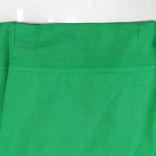 Shri Balaji Pure Cotton Green Skirt Indian Saree Petticoat Undercoat Lining Skirt Quilted