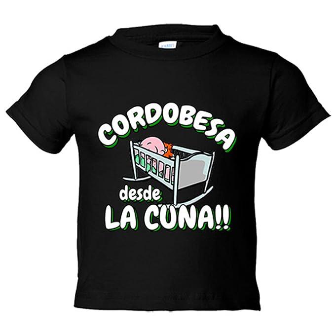 Camiseta niño Cordobesa desde la cuna Córdoba fútbol - Blanco, 3-4 años: Amazon.es: Bebé