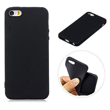 OnlyCase Funda iPhone 5 / iPhone 5S,Carcasa Elegante TPU Suave Silicón Gel de Alta Resistencia y Flexibilidad Anti-arañazos y Antideslizante ...
