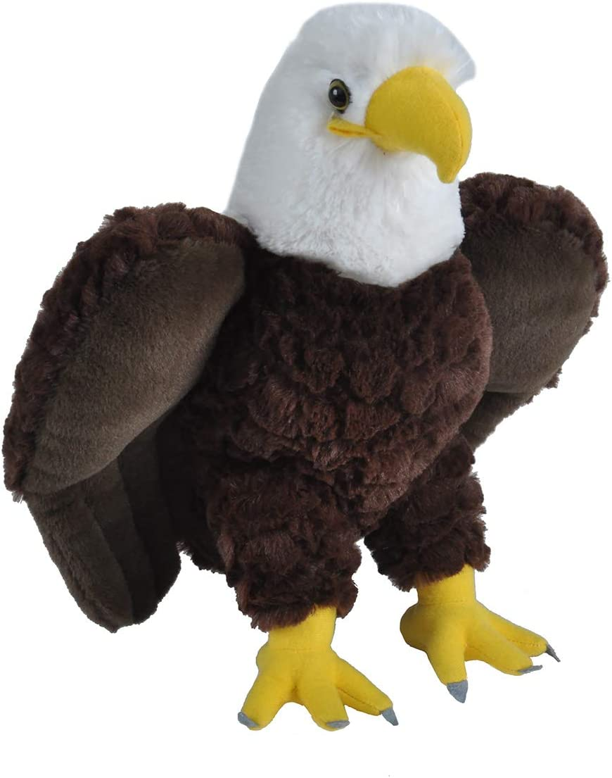 Wild Republic Peluche Águila Calva Cuddlekins, 30cm