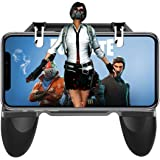 ET Bazar Sensitive Shoot and Aim Trigger Keys L1R1 Gaming Grip Gamepad Joysticks Phone Holder Compatible with iPhone & Android for PUBG/Knives Out