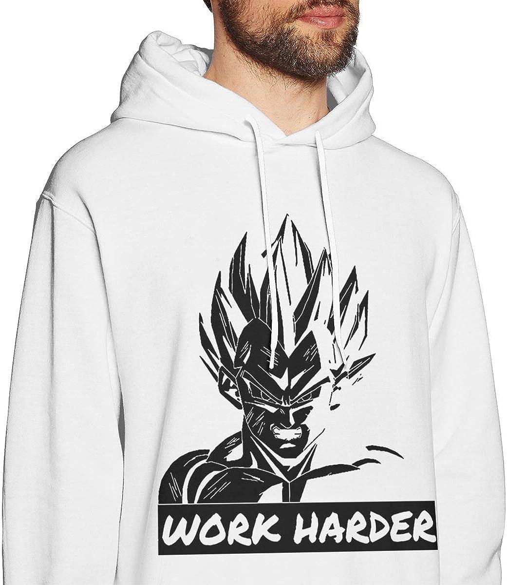 Work Harder Motivational Dragon Ball Man Fashion Keep Warm Sweater