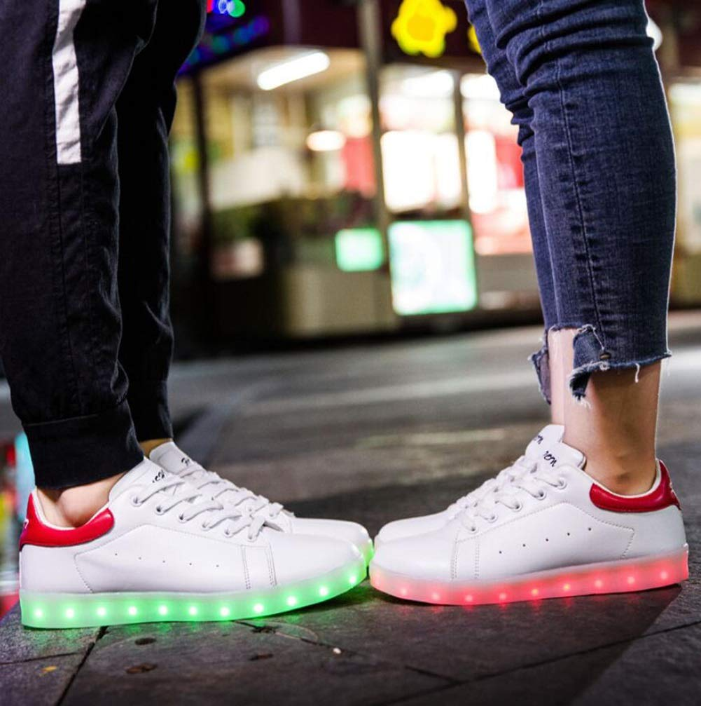 Women's Shoes Spring Fall LED Shoes Comfort Boots Crib Shoes Ankle Strap Snow Boots Comfort Light Up Shoes Sneakers Basketball Shoes Fitness & Cross Training B07GKWQZM1 Fashion Sneakers 7b7b97