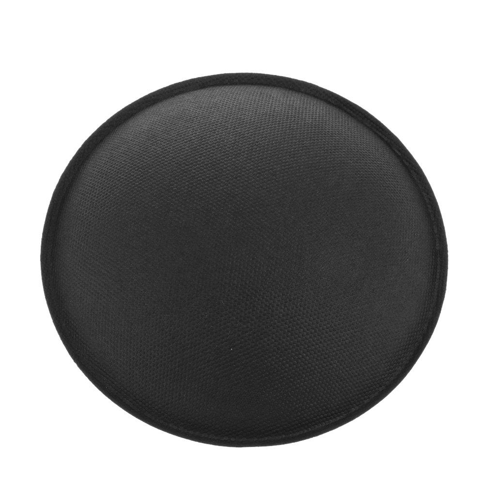 Sharplace Couverture Subwoofer Haut-Parleur Electronique D/ôme Anti-Poussi/ère Haute Qualit/é Noir 82mm