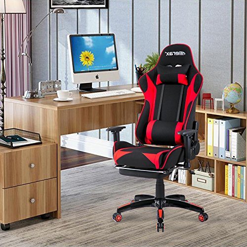 61k BtYuKTL - Merax-Executive-Swivel-Leather-Gaming-Chair-Racing-Style-High-back-Office-Chair-With-Lumbar-Support-and-Headrest