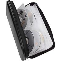Fanspack CD Case Wallet DVD Storage 80 Capacity CD Wallet Storage Hard Plastic DVD Wallet