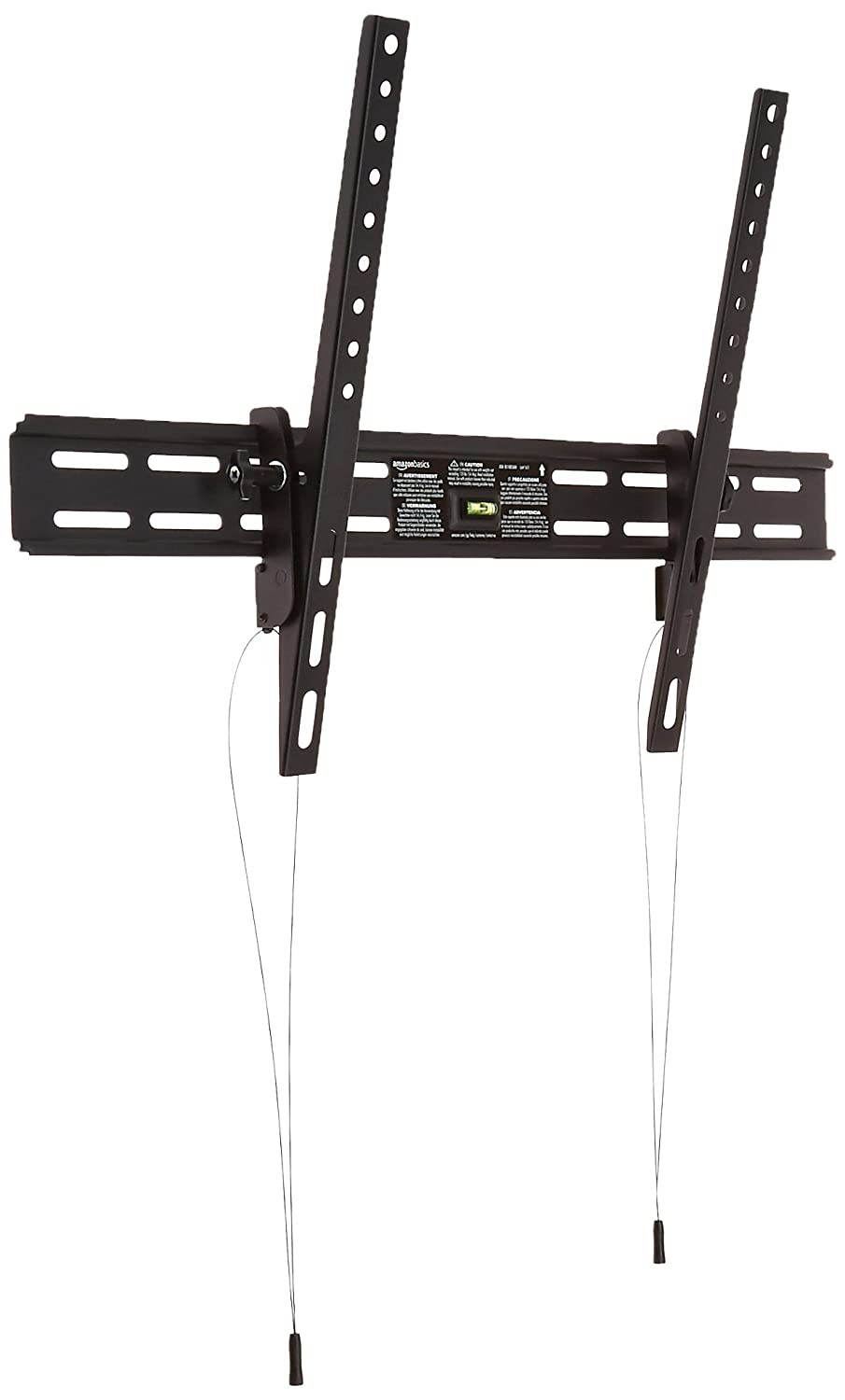 AmazonBasics Heavy-Duty Tilting TV Wall Mount for 37-inch to 80-inch TVs (Certified Refurbished)