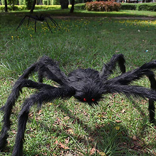 Clearance Sale!DEESEE(TM)Hairy Giant Spider Decoration Halloween Prop Haunted House Decor -