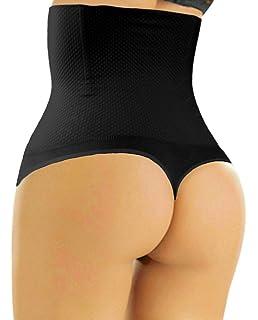 f25693828d Sweet Cherry 510 Thong - Womens Waist Cincher Body Shaper Trainer Girdle  Faja Tummy Control Underwear