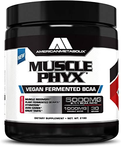 American Metabolix Musclephyx BCAA Pro Series Supplement, Watermelon, 12.27 Ounce