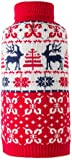 SCENEREAL CO. Dog Jumpers Christmas Sweaters Winter Knitwear Xmas Clothes Classic Warm Coats for Cold Days Reindeer Printing, M