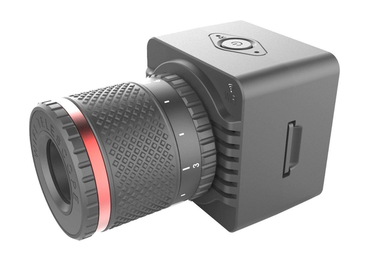 Newstar 小型カメラ スパイカメラ 高画質 テレスコープ 望遠 USB 外部電源 長時間 監視 防犯 スマホ Wi-Fi カメラ B07C2SFPHN