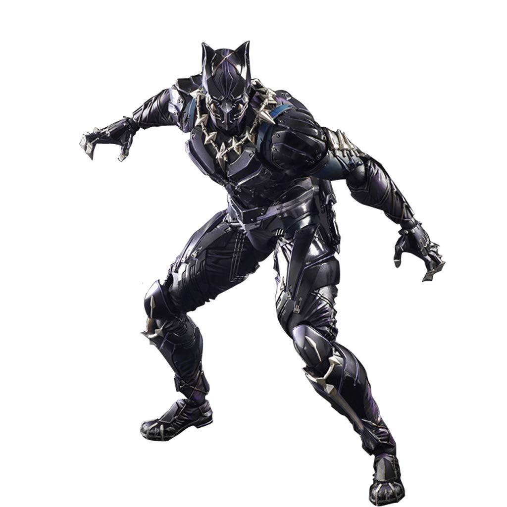 KGMYGS Personifizierte dekorative Statue des Avengers-Filmversions-Panthermodellspielzeugs