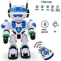 Toyshine Agent Alexson Remote Control Robot Toy (White)