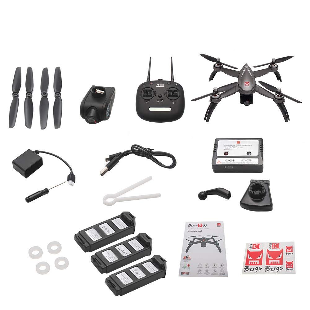 Glareshop Drohne mit Kamera Live Live Live bertragung,MJX 1080P WiFi FPV Kamera GPS Positionierungshöhe halten RC Quadcopter Spielzeug 6  ad2968