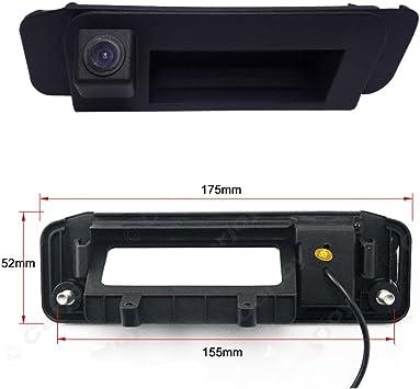 Kalakass Barra Maniglia Portellone Posteriore Telecamera retromarcia Sistema Linee di distanza per auto X204 GLK280 GLK300 GLK350 GLK200 GLK220 GLK250 GLK320 CDI W205 W166 GLA200