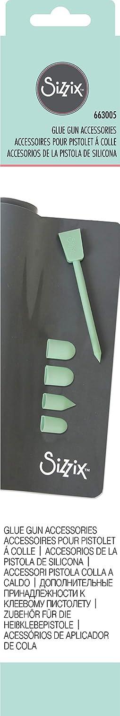 Transparent 12 Pack Plastique 18,6 x 6,9 x 1,5 cm Sizzix 662354 B/âtonnets de Pistolet /á Colle