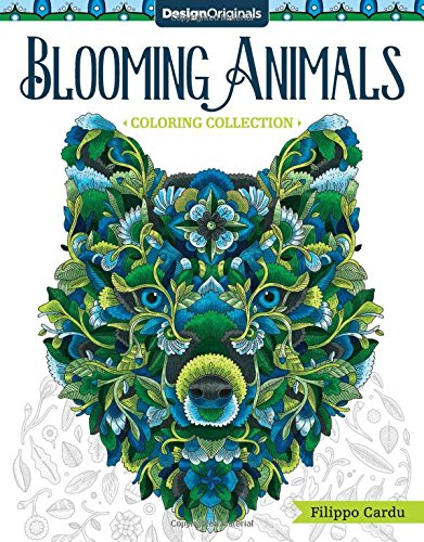Blooming Animals Coloring Collection (Filippo Cardu Coloring Collection)