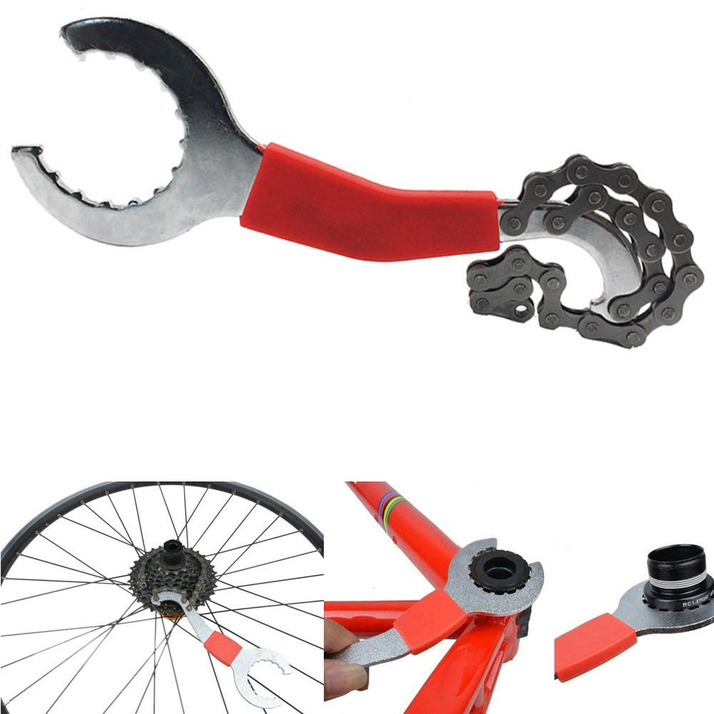 Bicycle Crank Extractor Non-Deformation Bike Bottom Bracket Remover Cycling Repair Tool Set