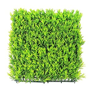 ULAND Artificial Hedges Panels, Outdoor Greenery Ivy Privacy Fence Screening, Home Garden Wedding Decoration 5