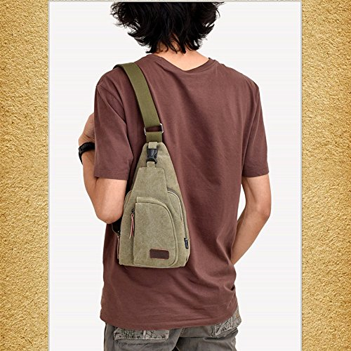 Kukul Bolsos de hombro, Bolsas de lona para hombres, 2017 Bolsa de hombro retro (los 20cm * los 6cm * los 30cm) A