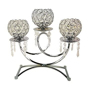 Amazon.com: DLusso Designs Home Decorative 3 Ball Metal ...