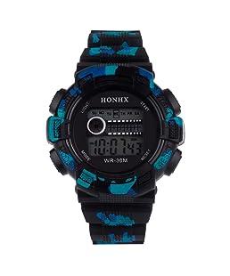 Becoler LED Digital Date Quartz Alarm Watch