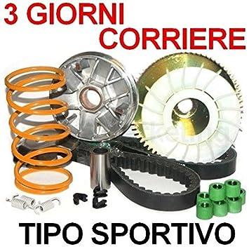 modifica Tuning Variador Polea Correa Kit para Piaggio Vespa Et2 LXV 50 da00: Amazon.es: Coche y moto