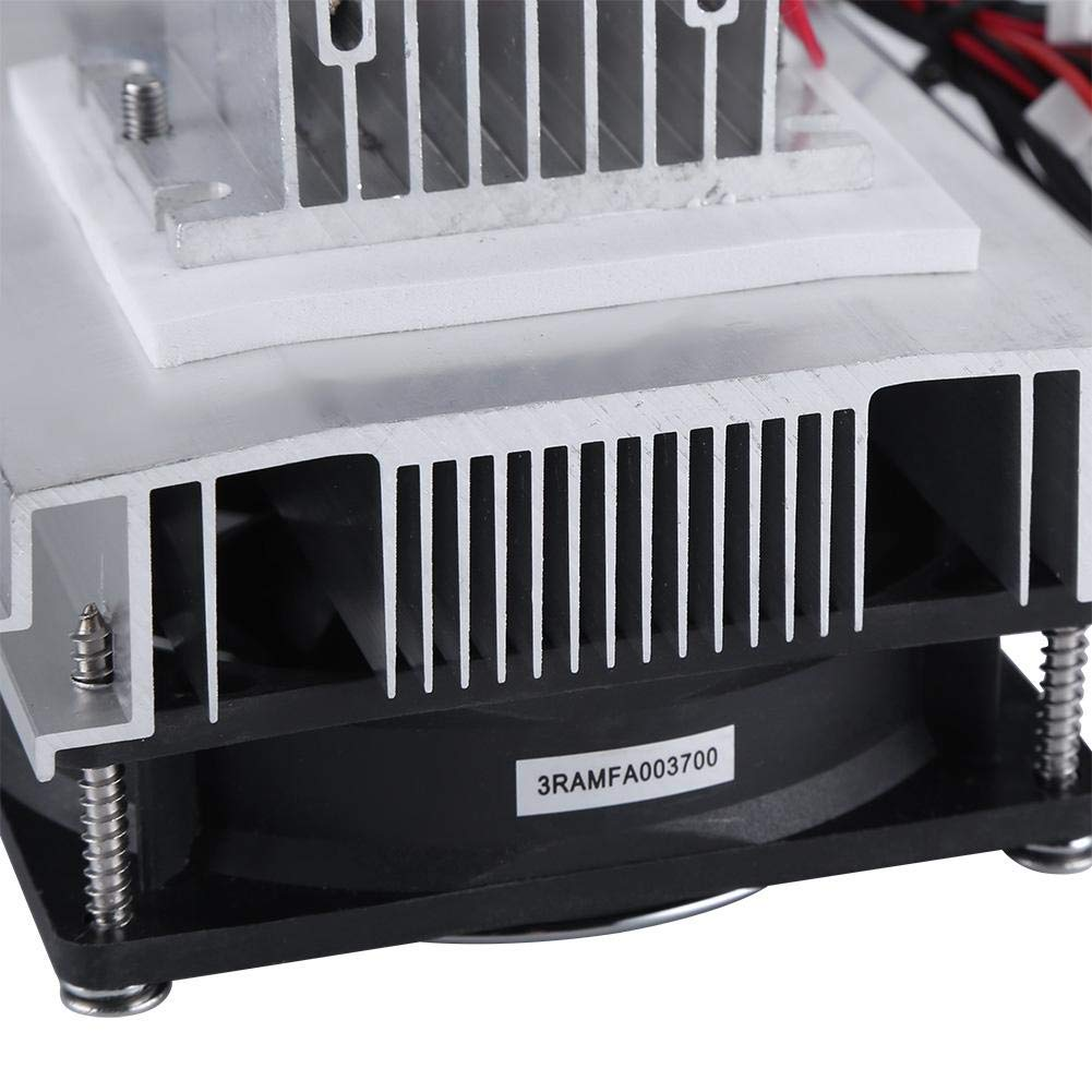 Core Semiconductor Thermoelectric Peltier Refrigeration Cooling System Cooler Semiconductor Thermoelectric Peltier Refrigeration Dual Semiconductor Cooler