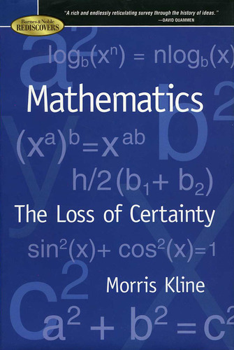 Mathematics - The Loss of Uncertainty ebook