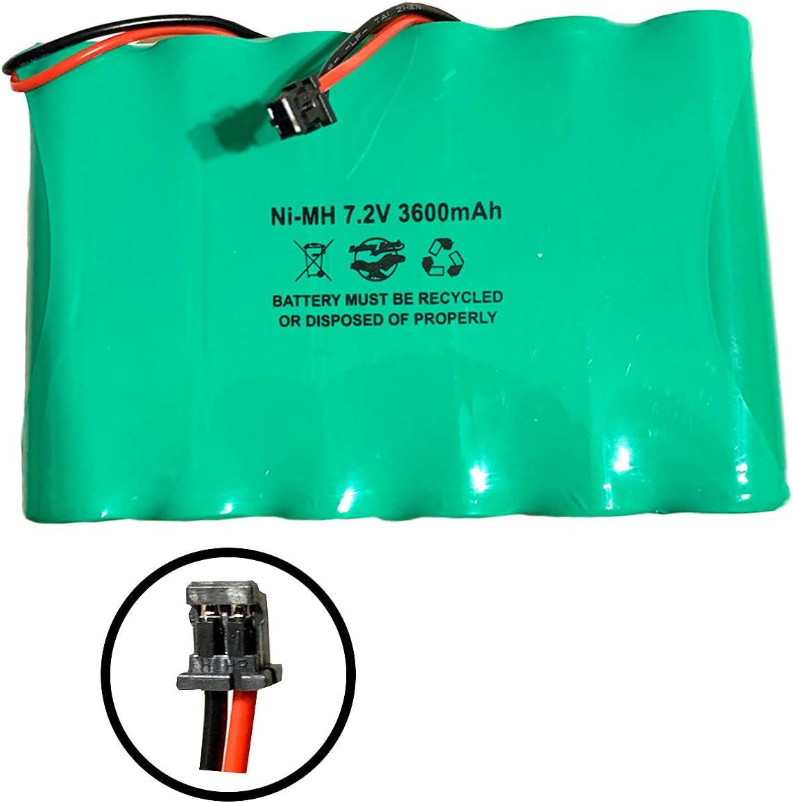 DSC IMPASSA 9057 Battery 6PH-H-4/3A3600-S-D22 7.2v 3600mAh Ni-MH Wireless Security System ADT SCW9057G-433