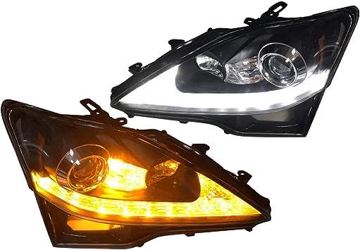 07 08 09 10 11 Lexus GS350 450h LED Angel Eye Custom LED Light Xenon White LED
