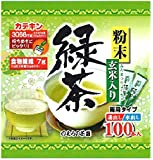 のむらの茶園 粉末玄米入り緑茶スティック 0.5g×100本