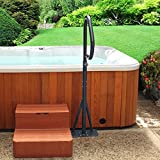 Hot Tub Handrail - Spa Side Safety Rail with Slide-under Mounting Base by Guardian