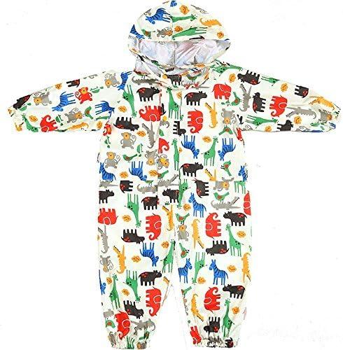 防水 キッズレインコート 子供ベビーシャムポンチョグリーンはレインコートの色薄いフード付きレインコートを着用してください 梅雨対策 アウトドア (Size : S)