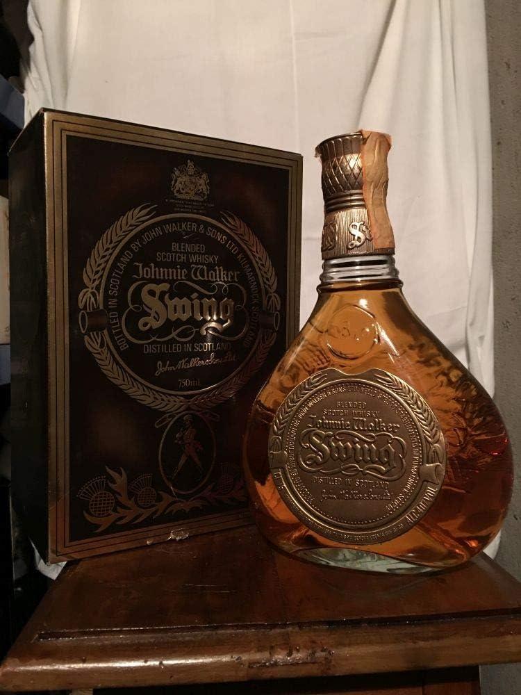 Johnnie Walker Swing old bottle con estuche 75cl: Amazon.es: Alimentación y bebidas