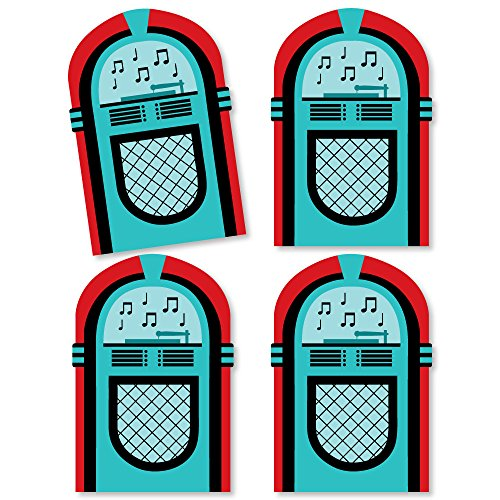 50's Sock Hop - Jukebox Decorations DIY 1950s Rock N Roll Party Essentials - Set of 20